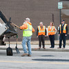 142407 Patching up JOED VIERA/STAFF PHOTOGRAPHER-Lockport, NY-Road Workers patch up potholes Pine St. on April 7, 2014.