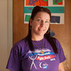 142409 Relay survivor JOED VIERA/STAFF PHOTOGRAPHER-Lockport, NY-Jennifer Popovich stands inside of her apartment April 9, 2014.