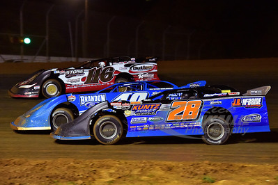 28e Dennis Erb, Jr., 40b Kyle Bronson and 116 Randy Weaver