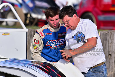 Donnie Moran gives advice to son, Devin
