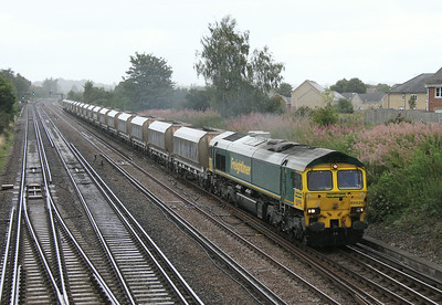 66529 Worting Junction 18/08/14 6O49 Angerstein Wharf to Wool