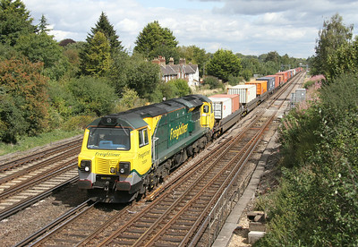 70009 Worting Junction 22/08/14 4O54 Leeds to Southampton