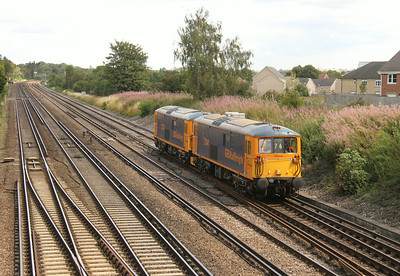 73141 Worting Junction 22/08/14 0Y76 Hoo Junction to Eastleigh with 73213