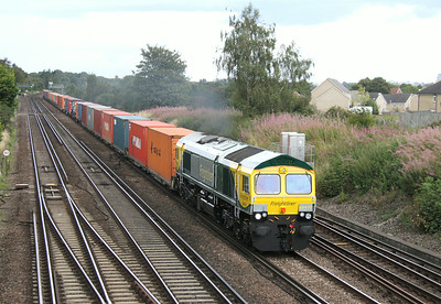66416 Worting Junction 18/08/14 4O54 Leeds to Southampton