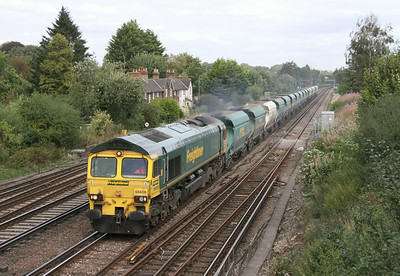 66606 Worting Junction 28/08/14 6O49 Neasden to Wool