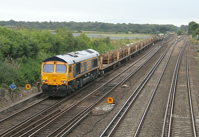 66740 Worting Junction 17/08/14 on the rear of 6G15 Richmond to Eastleigh