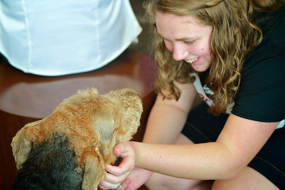 Paws a While; Therapy Dogs are invited to love, play, and spend time with new and returning Gardner-Webb students.