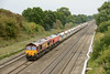 27 August 2013 :: 6V18 from Hither Green to Whatley was double headed today with 66030 and 59204 DIT.  The location is Ruscombe