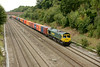27 August 2013 :: Passing Ruscombe is 66596 on 4L32 from Bristol to Tilbury