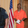 JOED VIERA/STAFF PHOTOGRAPHER-Lockport, NY- Shamir Allen walks out of his arraignment hearing on Thursday, August 14th.