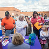 JOED VIERA/STAFF PHOTOGRAPHER-Lockport, NY- People line up at the booths at the Health Fair on Thursday, August 14th.