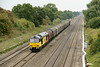 27 August 2013 :: Colas 'Tug' 60087 is passing Ruscombe on 6V62 from Tilbury to Llanwern