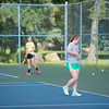 JOED VIERA/STAFF PHOTOGRAPHER-Lockport, NY-Lockport's tennis team practices on Monday, August 18th.