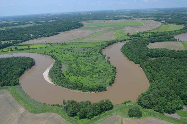 MET060514 River aerials