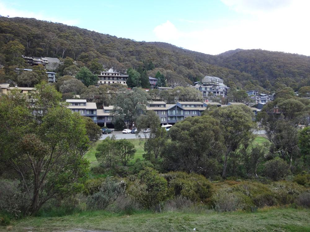 Thredbo is Australia's biggest alpine town and winter ski resort