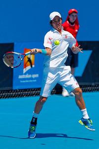 04.01 Kei Nishikori - Australian Open 2014_04.01