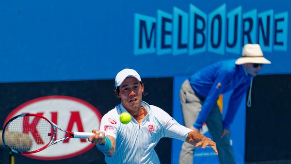 04.04 Kei Nishikori - Australian Open 2014_04.04