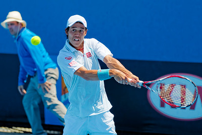 04.02 Kei Nishikori - Australian Open 2014_04.02