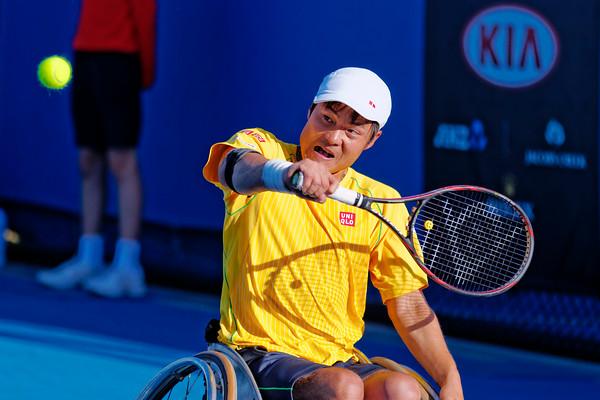 03.02 Shingo Kunieda - Australian Open Wheelchair 2014_03.02