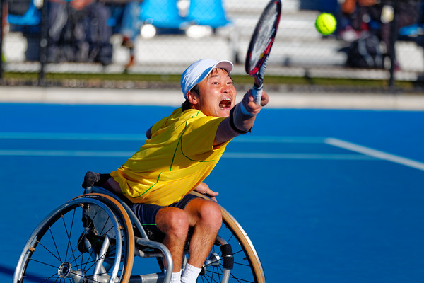 03.03 Shingo Kunieda - Australian Open Wheelchair 2014_03.03