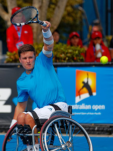02.04 Gordon Reid - Australian Open Wheelchair 2014_02.04