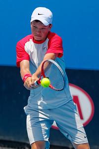 01.10 Stefan Kozlov - Australian Open juniors 2014_01.10
