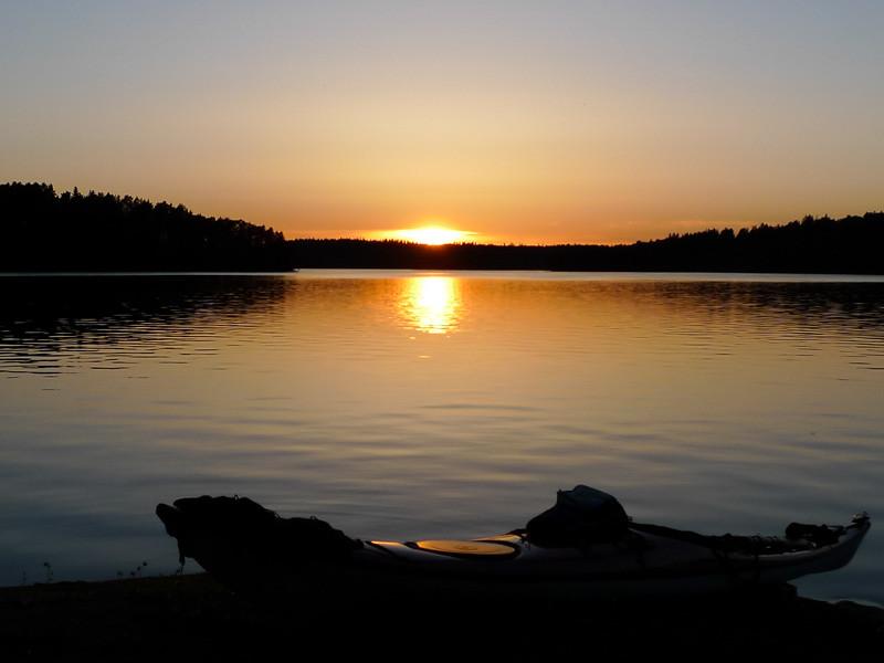 Alltid fina solnedgångar