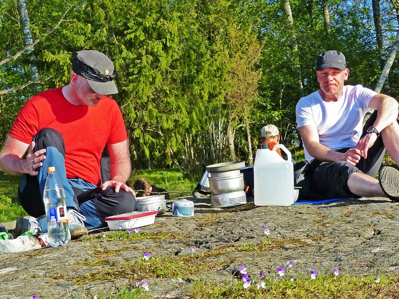 Jesper, Marcus och styvmorsviol