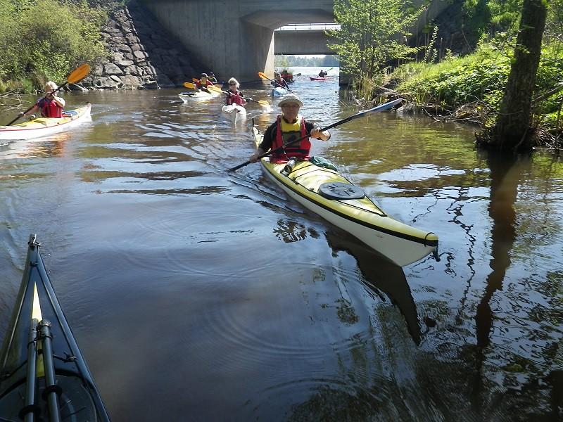 Upp i kanalen vid Sparreholm