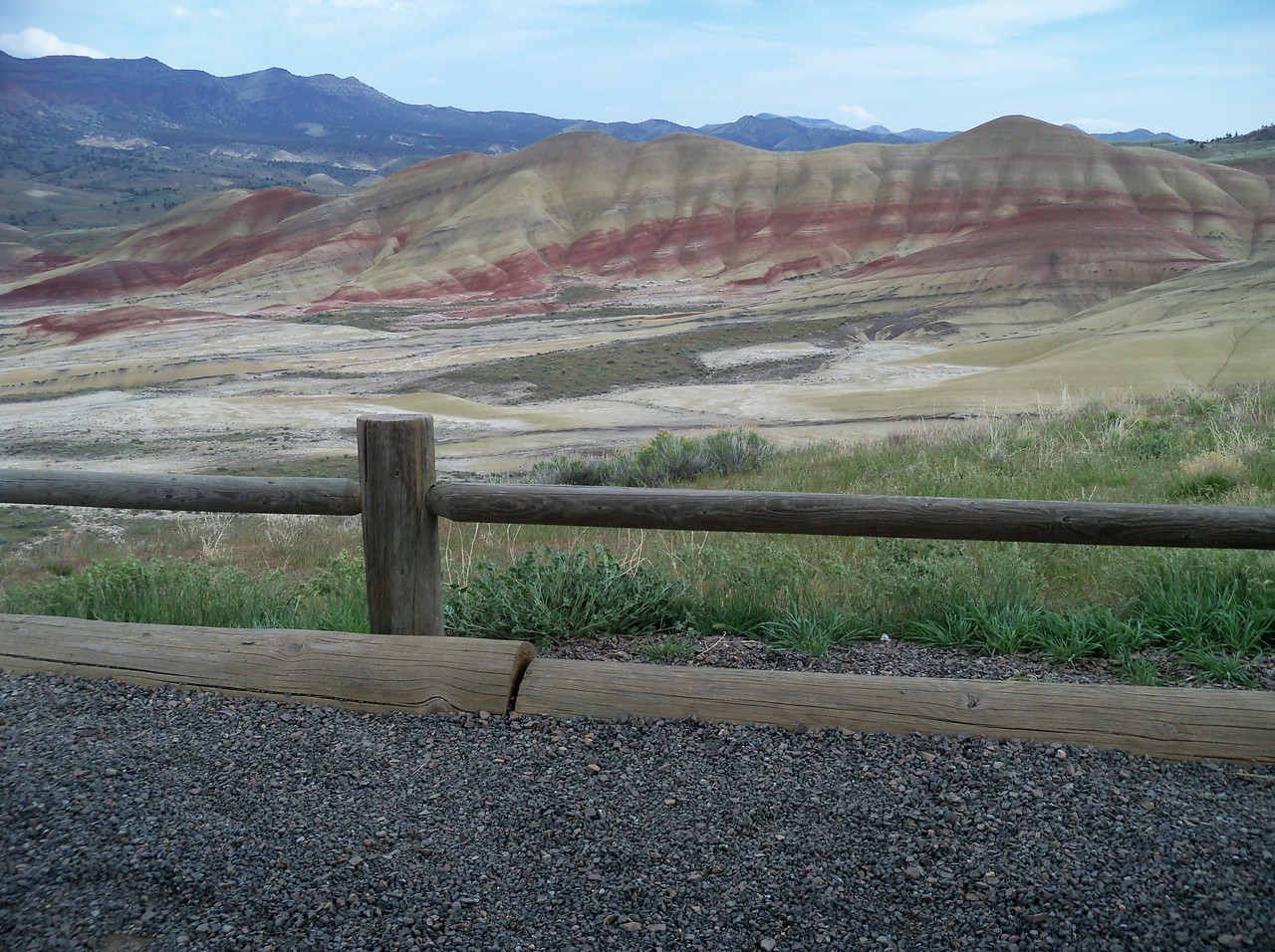 Painted Hills Site, John Day Fossil Beds