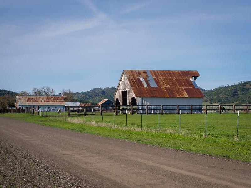Colored barns