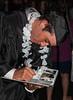 Benjamin signing yearbook