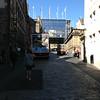 Edinburgh on the way to begin Royal Mile walk