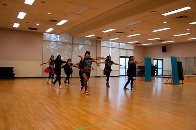 Bonsor Dance Rehearsal