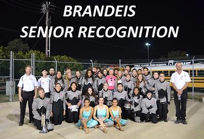 Brandeis. Senior Recognition Game