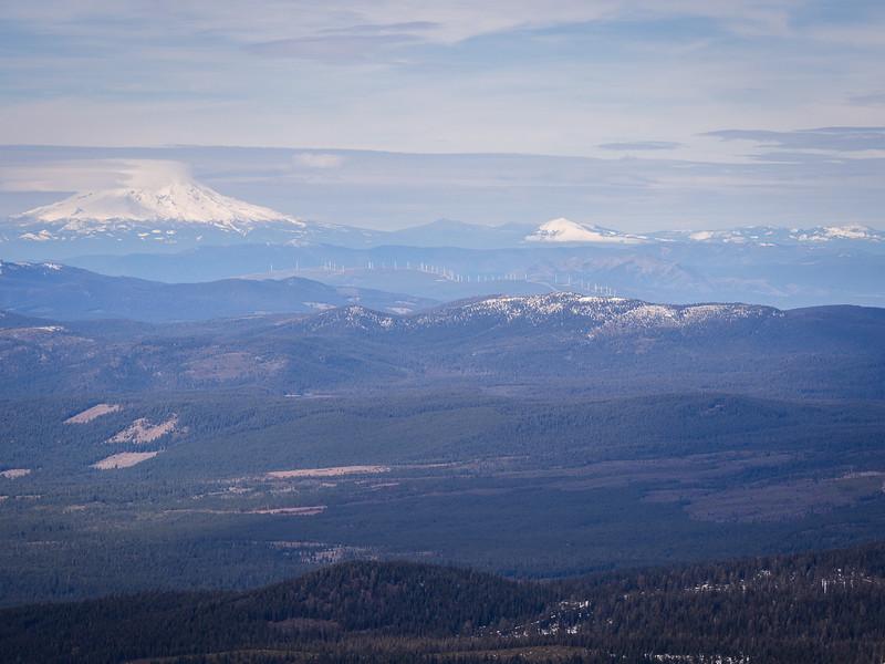 North to Mt. Shasta