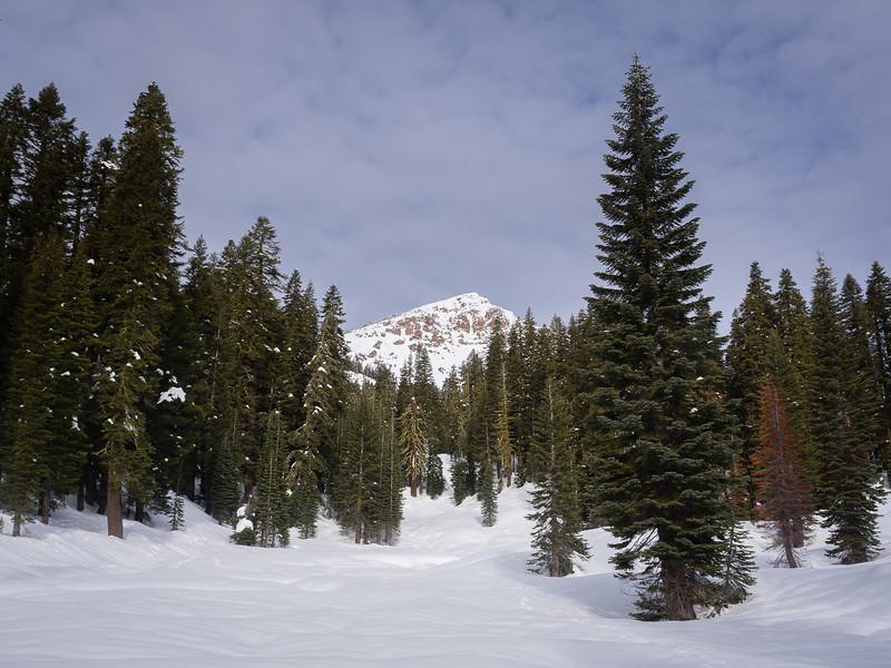 Brokeoff Mountain, from below