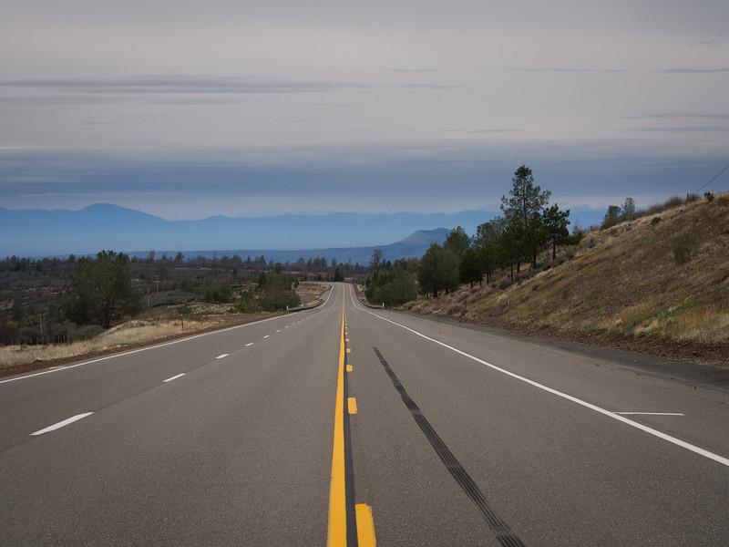 CA 36, westbound