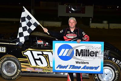 Mike Marlar won the Miller Welders Fast Time Award