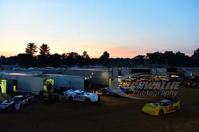 Brownstown Speedway pit area