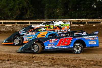 Chase Junghans (18), Brady Smith (2) and Shane Clanton (25)