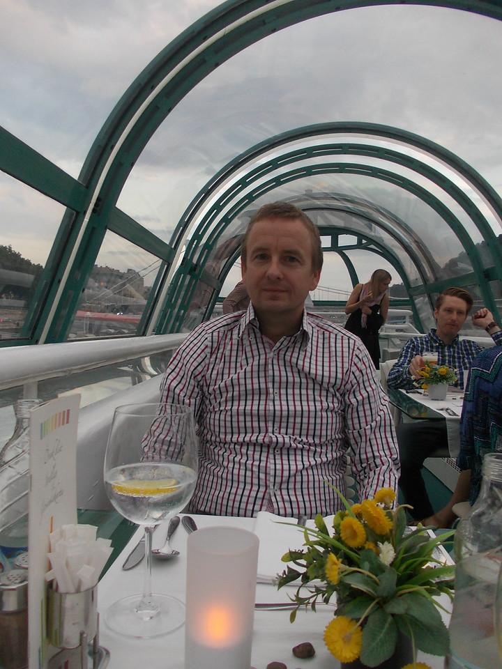Donau cruise and dinner