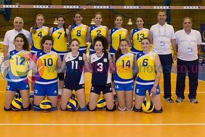 CEV 2015 Women's European Championships  - Cyprus v Malta
