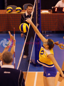 CEV 2015 Women's European Championships, SCD Pool A (Scotland), MLT 1 v 3 CYP (WSA-01) [13-25, 25-22, 13-25, 15-25], Friday 6th June 2014, Bell's Sport Centre, Perth, Scotland