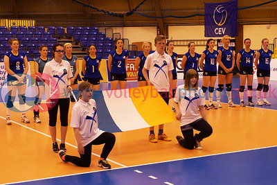 CEV 2015 Women's European Championships, SCD Pool A (Scotland), NIR 3 v 1 IRL (WSA-02) [18-25, 25-22, 28-26, 25-22], Friday 6th June 2014, Bell's Sport Centre, Perth, Scotland