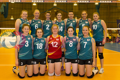 CEV 2015 European Championships Women - Northern Ireland v Ireland
