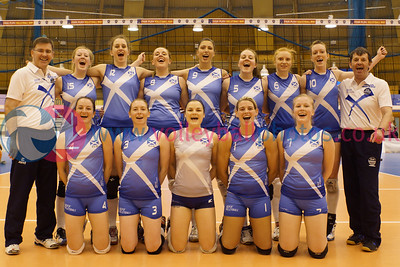 CEV 2015 Women's European Championships, SCD Pool A (Scotland), SCO 3 v 0 MLT (WSA-03) [18, 10, 19], Friday 6th June 2014, Bell's Sport Centre, Perth, Scotland