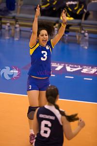 CEV 2015 European Championships Women - Ireland v Cyprus