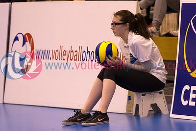 CEV 2015 European Championships Women - Malta 3 v 0 Northern Ireland (7, 12, 7)