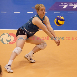 CEV 2015 Women's European Championships, SCD Pool A (Scotland), NIR 0 v 3 SCO (WSA-04) [12, 14, 12], Saturday 7th June 2014, Bell's Sport Centre, Perth, Scotland